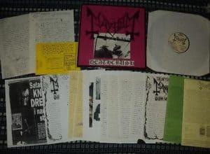 Euronymous-Deathcrush-vinyl-Mayhem