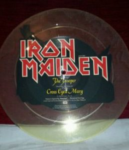 IRON-MAIDEN-RARE-UNCUT-THE-TROOPER-BACK-PIC-DISC