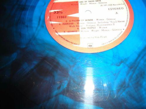 Pink Floyd - Meddle,1971 Blue Rare Vinyl LP,Colombian ($5500-$12000)