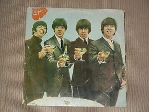 Beatles-Rubber Soul,Champagne Cover
