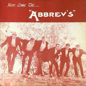 ABBREV'S - Here come the Abbrev's - LP - 1966  rare vinyl record