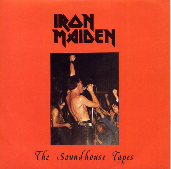 "Iron Maiden - The Soundhouse Tapes 7"" Rare Vinyl Records"