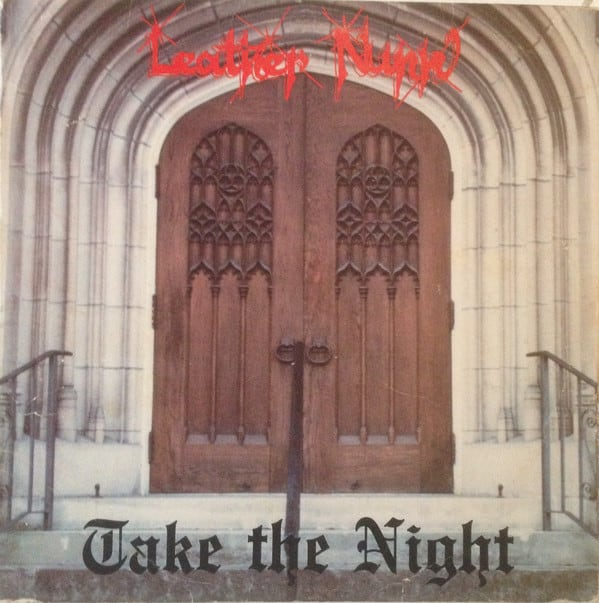 Leather Nunn - Take the Night  - LP - 1986 Rare Vinyl Records