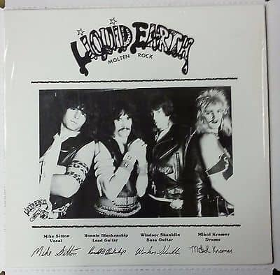 Liquid Earth - Molten Rock - LP Rare Vinyl Records