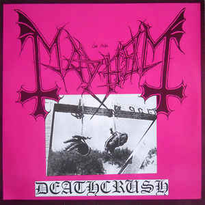 Mayhem - Deathcrush  - EP - 1987  Rare Vinyl Records