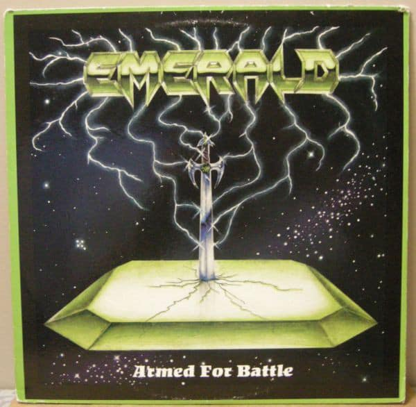 Emerald - Armed for Battle - LP - 1986 Rare Vinyl Records