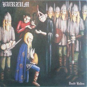 Burzum – Dauði Baldrs 1997 vinyl