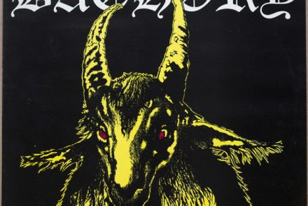 Bathory Yellow goat vinyl lp
