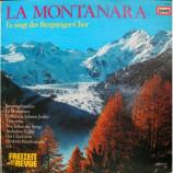 Bergsteiger-Chor - La Montanara - LP