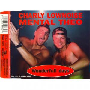 Charly Lownoise & Mental Theo - Wonderfull Days - CD Maxi Single - CD - Album