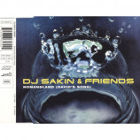 DJ Sakin & Friends - Nomansland (David's Song) - CD Maxi Single