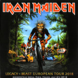 Iron Maiden - Legacy Of The Beast European Tour 2018 Live In Paris