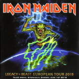Iron Maiden - Legacy Of The Beast European Tour 2018 Live In Stockholm