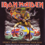 Iron Maiden - Legacy Of The Beast European Tour 2018 Sweden Rock Festival