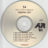 54 Featuring Cindy Mizelle - Shine On - CD