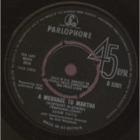 Adam Faith - A Message To Martha - 7