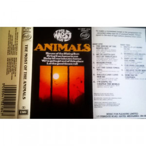 Animals - The Most Of - Cassette - Tape - Cassete