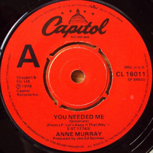 Anne Murray - You Needed Me - 7