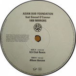 Asian Dub Foundation Feat Sinead O'Connor - 1000 Mirrors - 12
