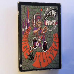 Back To The Planet - Teenage Turtles - Cassette - Tape - Cassete