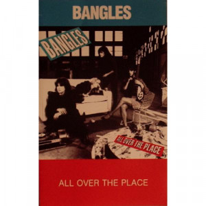 Bangles - All Over The Place - Cassette - Tape - Cassete