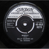 Billy Vaughn And His Orchestra - Wheels / Orange Blossom Special - 7