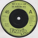 Boomtown Rats, The - Mary Of The 4th Form (Alternate Version) - 7