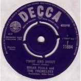 Brian Poole And The Tremeloes - Twist And Shout - 7
