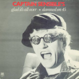 Captain Sensible - Glad It's All Over / Damned On 45 - 7