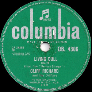 Cliff Richard And The Drifters - Living Doll - 10