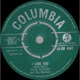 Cliff Richard And The Shadows - I Love You - 7