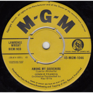 Connie Francis - Among My Souvenirs - 7
