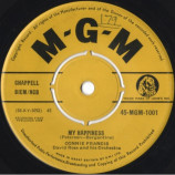 Connie Francis - My Happiness / Happy Days And Lonely Nights - 7