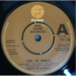 Country Joe McDonald - Save The Whales / Oh, Jamaica - 7