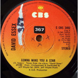 David Essex - Gonna Make You A Star - 7