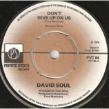 David Soul - Don't Give Up On Us - 7