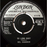 Del Shannon - So Long Baby - 7