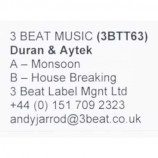 Duran & Aytek - Monsoon / House Breaking - 12