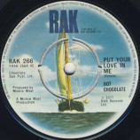 Hot Chocolate - Put Your Love In Me - 7