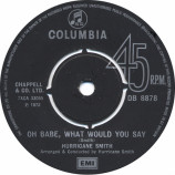 Hurricane Smith - Oh Babe, What Would You Say - 7