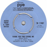 Jackie Trent & Tony Hatch - Thank You For Loving Me - 7