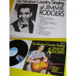 JIMMIE RODGERS - THE FABULOUS COUNTRY SINGING OF JIMMIE RODGERS - 12