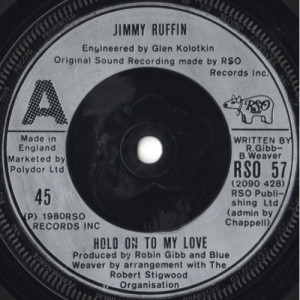 Jimmy Ruffin - Hold On To My Love - 7