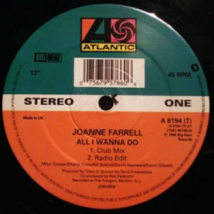 Joanne Farrell - All I Wanna Do - 12