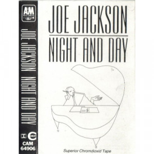 Joe Jackson - Night And Day - Cassette - Tape - Cassete