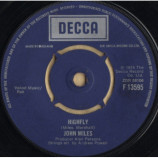 John Miles - Highfly / There's A Man Behind The Guitar - 7
