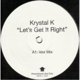 Krystal K - Let's Get It Right - 12