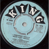 Larry Cunningham  And The Mighty Avons - I Dreamed About Mom Last Night / Little Nell - 7