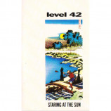Level 42 - Staring At The Sun - Cassette
