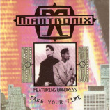 Mantronix Featuring Wondress - Take Your Time - 7